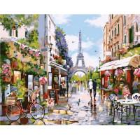 Paintboy GX32748 Картина по номерам 40х50 GX32748 Улочка Парижа