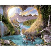 Paintboy GX34288 Картина по номерам 40х50 GX34288 Романтическое место