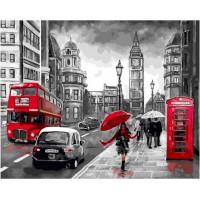 Paintboy GX34828 Картина по номерам 40х50 GX34828 Дождливый Лондон