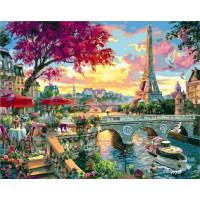 Paintboy GX35814 Картина по номерам 40х50 GX35814 Набережная Парижа
