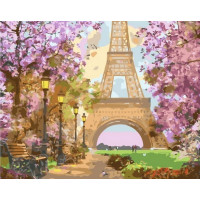 Paintboy GX37035 Картина по номерам 40х50 GX37035 Весенний Париж