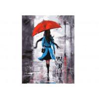 Paintboy GX37044 Картина по номерам 40х50 GX37044 Прогулка под дождем