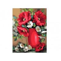 Paintboy GX37047 Картина по номерам 40х50 GX37047 Красивый букет