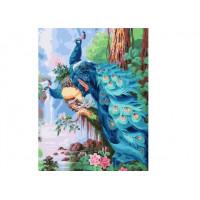 Paintboy GX37049 Картина по номерам 40х50 GX37049 Благородные павлины