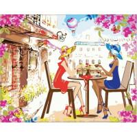 Paintboy GX37051 Картина по номерам 40х50 GX37051 Подружки в кафе