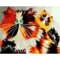 Paintboy GX37078 Картина по номерам 40х50 GX37078 Необычные котята