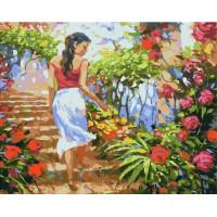 Paintboy GX37095 Картина по номерам 40х50 GX37095 Цветочная тропинка