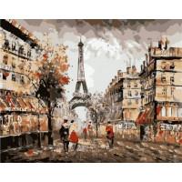 Paintboy GX37097 Картина по номерам 40х50 GX37097 Париж
