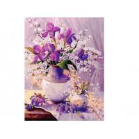 Paintboy GX37100 Картина по номерам 40х50 GX37100 Свежие ирисы