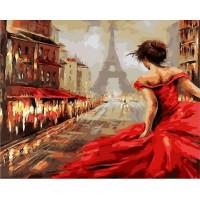 Paintboy GX37101 Картина по номерам 40х50 GX37101 Бегущая по Парижу