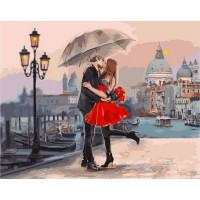 Paintboy GX9991 Картина по номерам 40х50 GX9991 Поцелуй на набережной