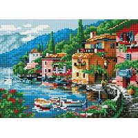 Paintboy QS200212 Алмазная мозаика 30х40 QS200212 Побережье Италии