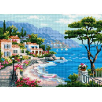 Paintboy QS200278 Алмазная мозаика 30х40 QS200278 Лазурное побережье