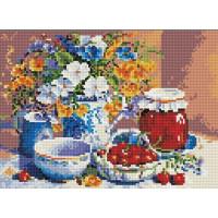 Paintboy QS200292 Алмазная мозаика 30х40 QS200292 Цветы и фрукты