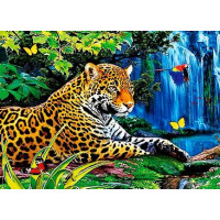 Paintboy QS200307 Алмазная мозаика 30х40 QS200307 Тигр у водопада