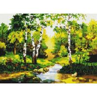 Paintboy QS200329 Алмазная мозаика 30х40 QS200329 Березовая роща