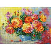 Paintboy QS200884 Алмазная мозаика 30х40 QS200884 Яркие розы