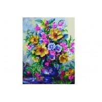 Paintboy QS201120 Алмазная мозаика 30х40 QS201120 Разноцветный букет