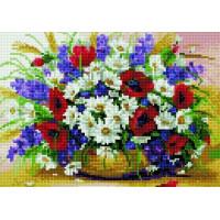 Paintboy QS201122 Алмазная мозаика 30х40 QS201122 Полевые цветы