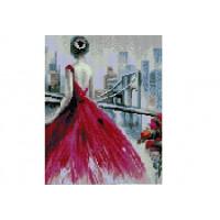 Paintboy QS201123 Алмазная мозаика 30х40 QS201123 На мосту