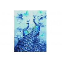 Paintboy QS201125 Алмазная мозаика 30х40 QS201125 Два павлина