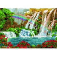 Paintboy QS201126 Алмазная мозаика 30х40 QS201126 Радуга