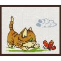 Палитра 05.001 Котёнок с бабочкой