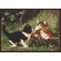 Палитра 07.001 Котята в корзине