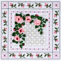 "Panna C-0554 Набор для вышивания ""PANNA"" C-0554 ( Ц-0554 ) ""Плетистая роза"""