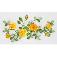 """Panna C-1089 Набор для вышивания """"PANNA"""" C-1089 ( Ц-1089 ) """"Желтые розы"""""""