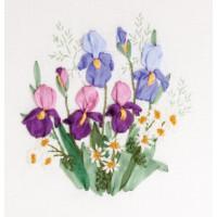 """Panna C-1337 Набор для вышивания """"PANNA"""" C-1337 ( Ц-1337 ) """"Палитра весны"""""""
