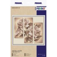 Panna C-1894 Триптих с розами