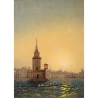 Panna GTG-7099 Вид Леандровой башни в Константинополе