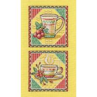 Panna Н-0798 Набор для вышивания «Panna» Н-0798 Утренний чай