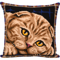 "Panna PD-7123 Набор для вышивания ""PANNA"" PD-7123 ""Подушка. Шотландская кошка"""
