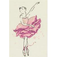 Panna С-7072 Балерина. Роза.