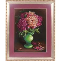 Panna Ц-0963 РОЗОВЫЕ ЛЕПЕСТКИ Набор для вышивания «Panna» Ц-0963 Розовые лепестки