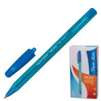 """PAPER MATE S0977340 Ручка шариковая PAPER MATE """"Inkjoy 100"""", ГОЛУБАЯ, корпус тонированный голубой, узел 1,2 мм, линия письма 1 мм, S0977340"""