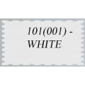 101 (001) Иранский фоамиран (парча), белый