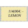 114 (004) Иранский фоамиран (парча), лимон