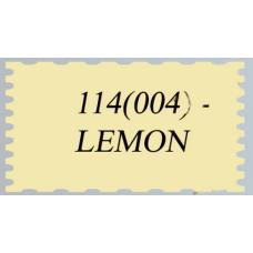 Иранский фоамиран (парча), лимон (арт. 114 (004))