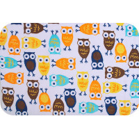 "PEPPY 3RKC NIGHT OWLS ""PEPPY"" Плюш 3RKC NIGHT OWLS ФАСОВКА 48 x 48 см 440 г/кв.м 100% полиэстер orange/brown"