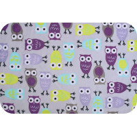 "PEPPY 3RKC NIGHT OWLS ""PEPPY"" Плюш 3RKC NIGHT OWLS ФАСОВКА 48 x 48 см 440 г/кв.м 100% полиэстер tiffany/violet"