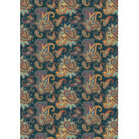 PEPPY СКАЗОЧНЫЙ ВОСТОК Ткань для пэчворка PEPPY СКАЗОЧНЫЙ ВОСТОК ФАСОВКА 50 x 55 см 146 г/кв.м 100% хлопок СВ-09 т.бирюзовый