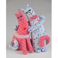 """Перловка Влюбленные Коты (спереди)* Набор """"Кукла Перловка"""" ПЛ-402 Влюблённые Коты"""