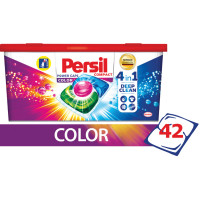 PERSIL 2485888 Средство для стирки в капсулах 42 шт. PERSIL (Персил) Power caps Color, для цветного белья, 2485888