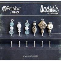 Petaloo 1474-005 Шпильки декоративные Agua