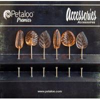 "Petaloo 1475-014 Шпильки декоративные ""Petaloo"" 1475-014 Glass Ornament Pins х 6 шт. -Peach"