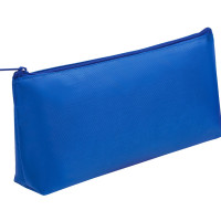 ПИФАГОР 229004 Пенал-косметичка ПИФАГОР на молнии, текстиль, синий, 19х4х9 см, 229004