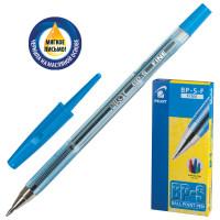 """PILOT BP-S-F Ручка шариковая масляная PILOT """"BP-S"""", СИНЯЯ, корпус тонированный синий, узел 0,7 мм, линия письма 0,32 мм, BP-S-F"""